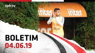 BOLETIM DE TREINO: 04.06   SPFCTV