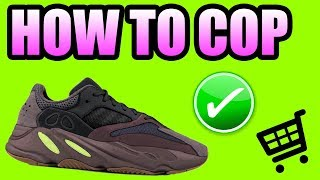 How To Get The YEEZY 700 MAUVE ! Yeezy 700 MAUVE Release Info