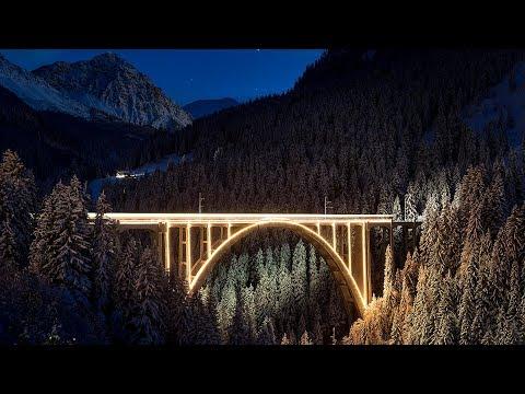 Timelapse: Chur Arosa Trainlapse
