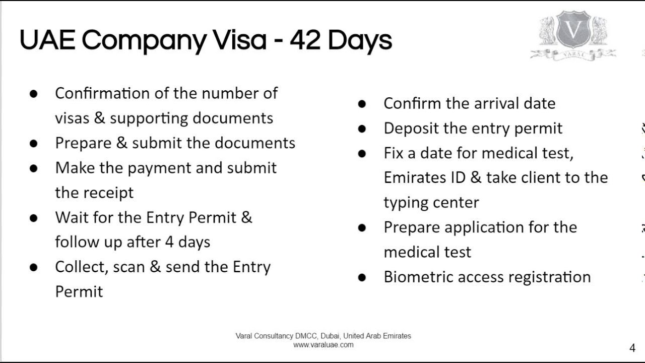 UAE Company Visas | Processing Your Application So You Don't Waste Your Time
