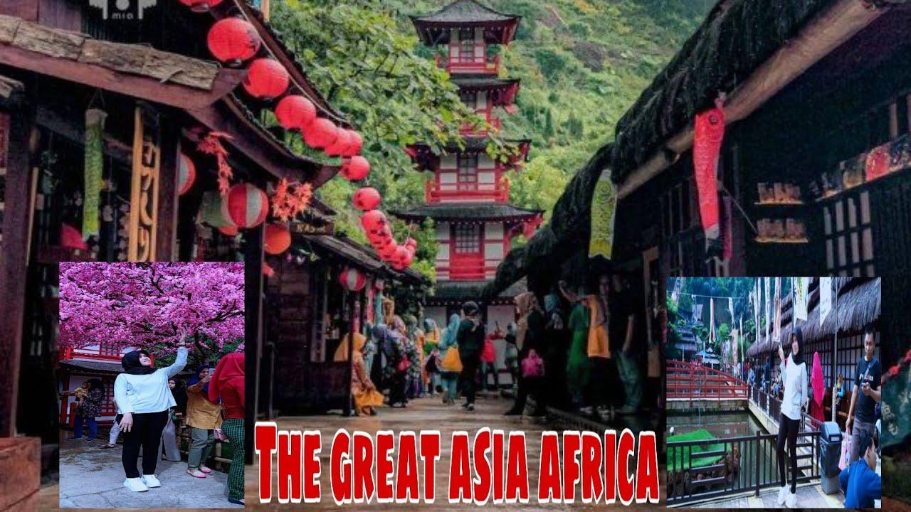 """Tempat terhits di bandung saat ini """"The Great Asia Africa ..."""