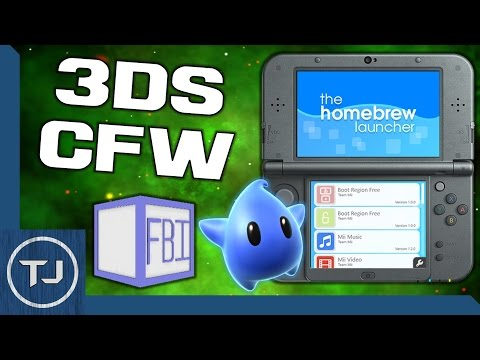 3DS/2DS CFW 11.2! (Arm9LoaderHax, FBI, LUMA, HomeBrew) *OUTDATED*