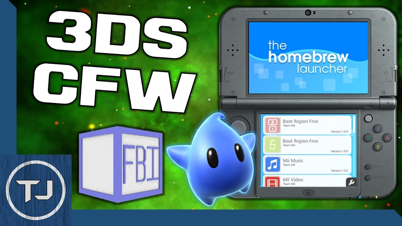 3DS/2DS CFW 11 2! (Arm9LoaderHax, FBI, LUMA, HomeBrew) *OUTDATED*