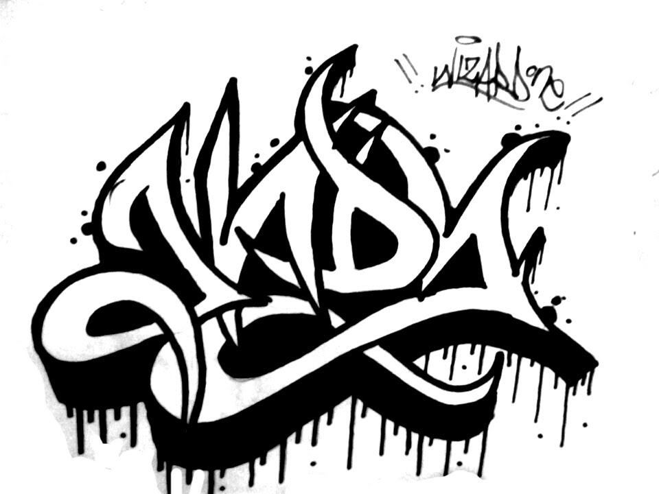 How To Draw Graffiti Name Andy Requested By Andy Como Dibujar Graffiti
