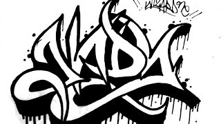 How to draw graffiti name ANDY -  Requested by ANDY - como dibujar graffiti