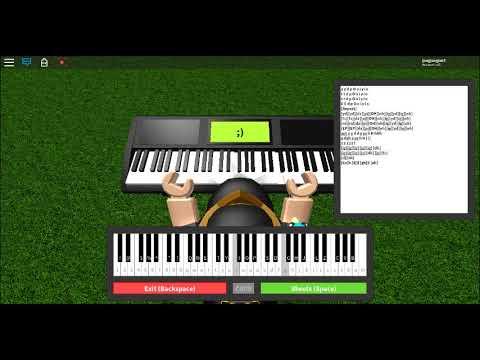 Megalovania Roblox Piano Keys