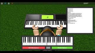 Roblox:Piano Keyboard v1.1 musik sans