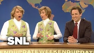 Weekend Update: Garth and Kat Sing Spring Songs - SNL