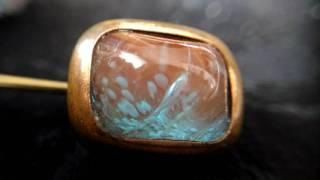 カボションサフィレット(saphiret glass) スロー再生