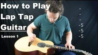 how to play guitar sideways - lesson one