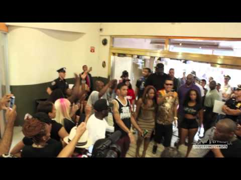French Montana Queens (Hall of Fame) Coliseum Jamaica Ave