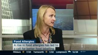 Child food allergies on the rise
