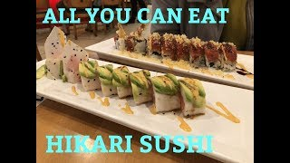 HIKARI SUSHI: ALL YOU CAN EAT REVIEW