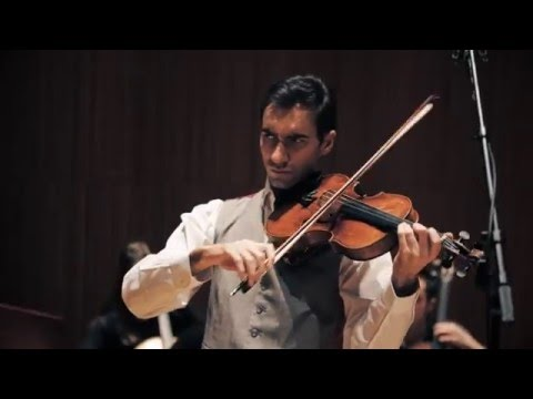 David Aaron Carpenter records Vivaldi's Four Seasons for Viola
