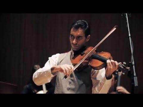 David Aaron Carpenter records Vivaldi's Four Seasons for Viola