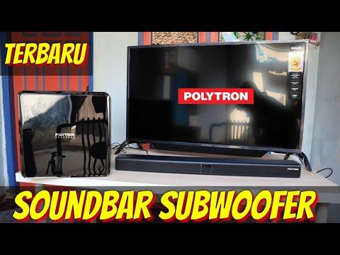 SUBWOOFER SOUNDBAR Terbaru Polytron Satu SET Dari TV CINEMAX | The Bass Sound Was Unexpectedly Crazy