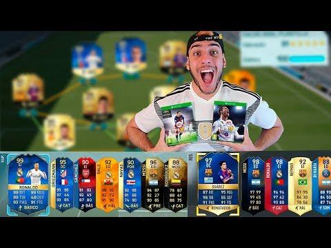 FUT DRAFT FIFA 18 vs FIFA 17 vs FIFA 16 !!
