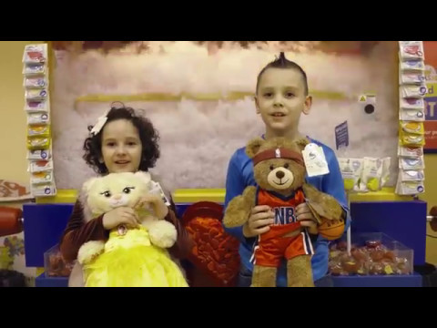 2017 Cleveland Build-a-bear with the Boy of the Year