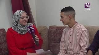 لقاء الطالب سعيد عبد الرحيم سعيد بدران 99.3 الفرع العلمي