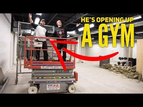 HUGE ANNOUNCEMENT: OPENING A GYM! (Ft. Jeremy Hamilton)
