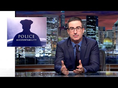 Thumbnail: Police Accountability: Last Week Tonight with John Oliver (HBO)