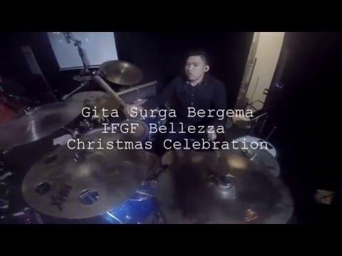 Gita Surga Bergema - Edwin Gunawan (Drum Cam)