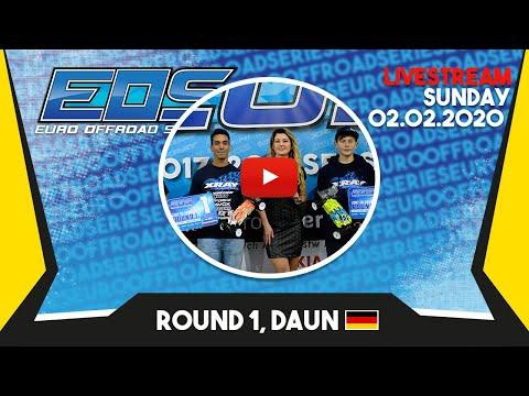 EOS Live Stream Round 1, Daun - Sunday 02.02.2020