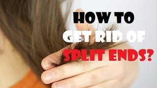 How to Get Rid of Split Ends Without Cutting?