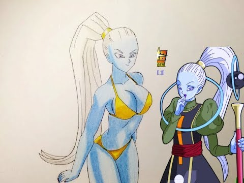 Cómo dibujar a vados dbs en bikini ^-^/how to draw vados of Dragon Ball super