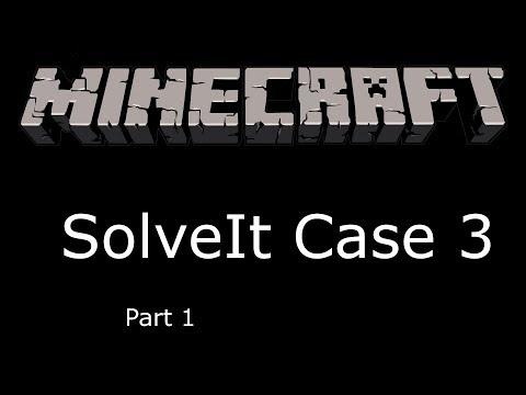 Minecraft SolveIt case 3 part 1: Worlds BEST Detective
