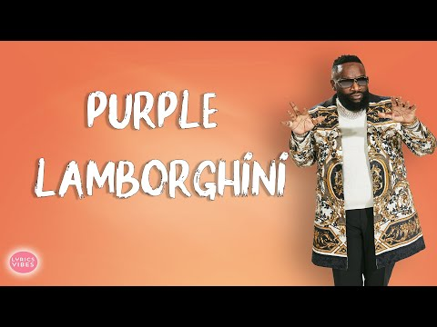 Skrillex & Rick Ross -  Purple Lamborghini LYRICS & AUDIO