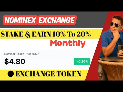 Nominex Exchange Full Plan || Nonworking ROI Crypto Staking Plan || 2021 Hindi