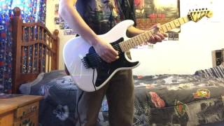 Iron Maiden - Paschendale guitar cover