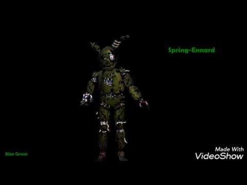 Spring Ennard Sings Fnaf Song