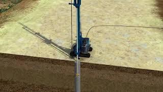 Derin Zemin Karıştırma İşlemi (Deep Soil Mixing Process)