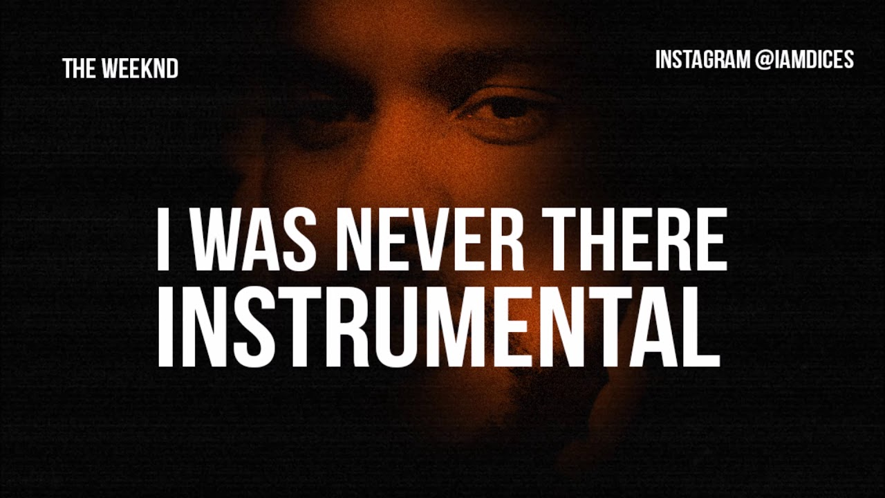 The Weeknd I Was Never There Instrumental Prod By Dices Free Dl