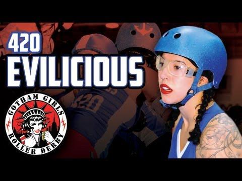 Evilicious - 2011 Interview - Gotham Girls Roller Derby