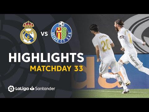 Real Madrid Getafe Goals And Highlights
