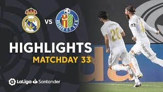 Highlights Real Madrid vs Getafe CF (1-0)