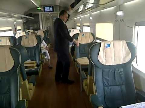 SAUDI RAILWAYS- First Class Compartment