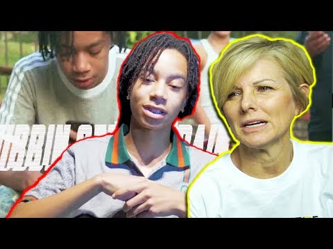 Mom REACTS to YBN Nahmir Rubbin Off The Paint SHE GETS MAD