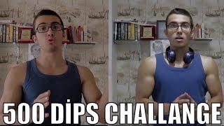 500 Dİps Challenge - 1000 Barfİks Yapabİlcekmİyİm?
