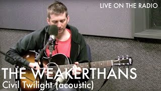 The Weakerthans - Civil Twilight (acoustic)
