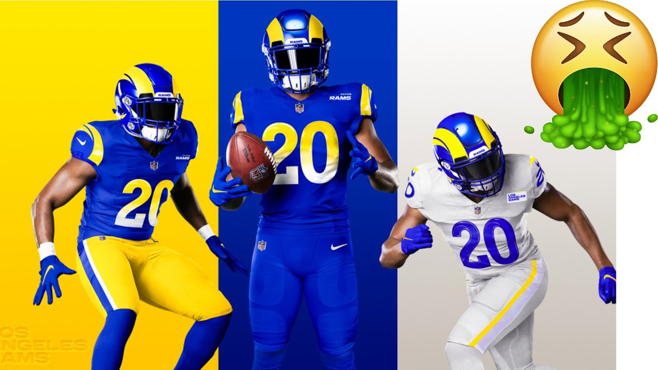 LA RAMS NEW UNIFORMS ARE TRASH!