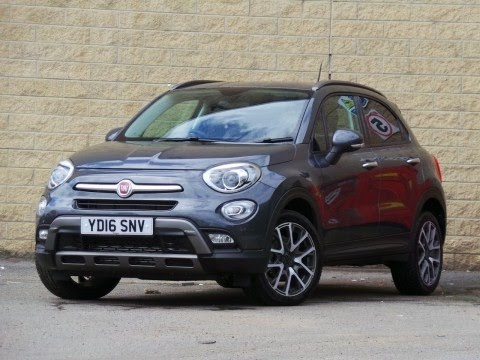 2016 16 fiat 500x 1 4 multiair cross plus 5dr in fashion grey demo youtube. Black Bedroom Furniture Sets. Home Design Ideas