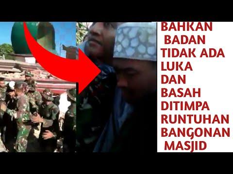 Kuasa Alloh! ditemukan beberapa hari paska tsunami Imam masjid selamat tanpa luka