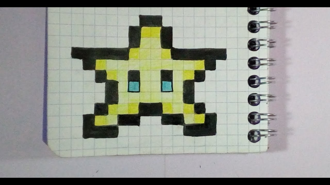 Pixel Art Facile Etoile