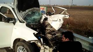sagar car accident