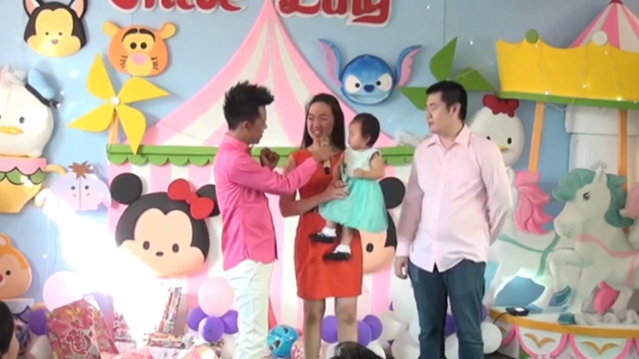 Aksi Lucu Mc Ulang Tahun Anak Kak Kamal Youtube