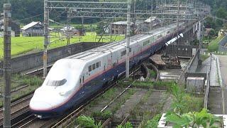 上越新幹線 E4系P52編成 Maxとき330号 長岡→浦佐 和南津の撮影地にて /Japanese Bullet Train E4Series Joestu Shinkansen Max TOKI